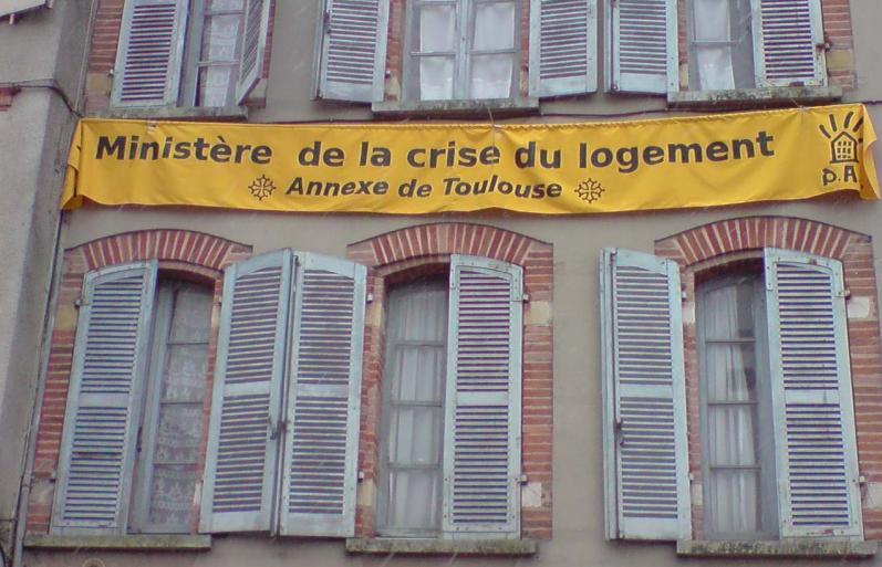 Expulsions programm es des sans logis du dal for Logis de france toulouse