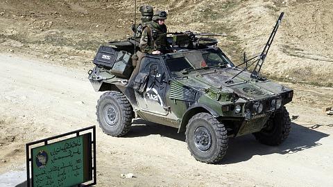 Les paras de la 11e Brigade Parachutiste projetés en Afghanistan VBL_RHP_Afghanistan