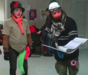 Les clowns relate le droit au chômage