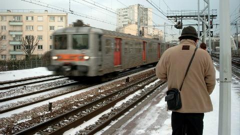 Toulouse saupoudrée de neige
