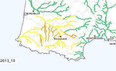 crues inondations Garonne Gers