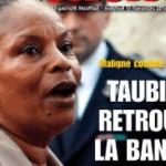 Taubira à la Une de Minute. condamnation de l'UMP31