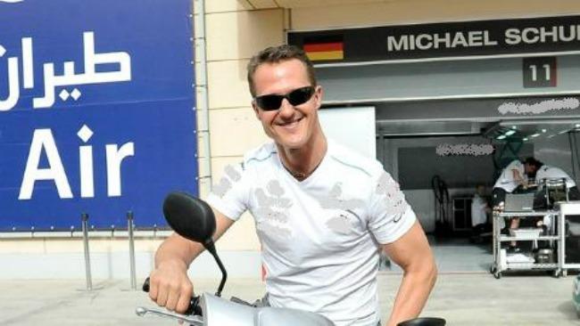 Schumacher coma phase de reveil