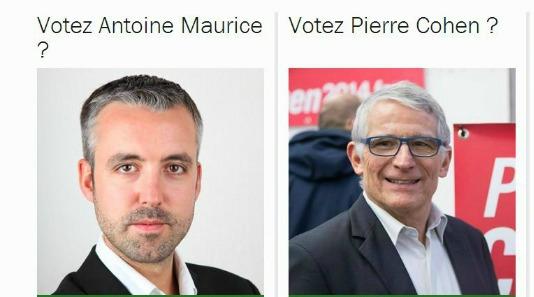 Pierre Cohen et Antoine Maurice sont parvenus à un accord