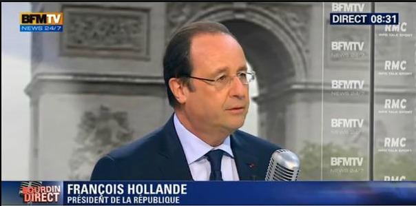 Hollande bourdin