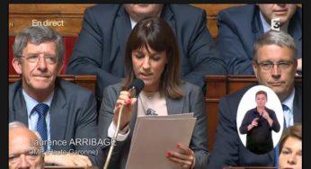 Laurence Arribagé interpelle Bernard Cazeneuve sur les migrants