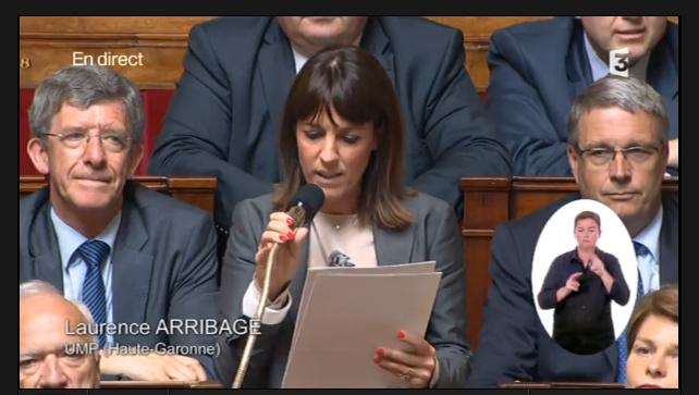 Laurence Arribagé présidente par intérim des Républicains Haute Garonne