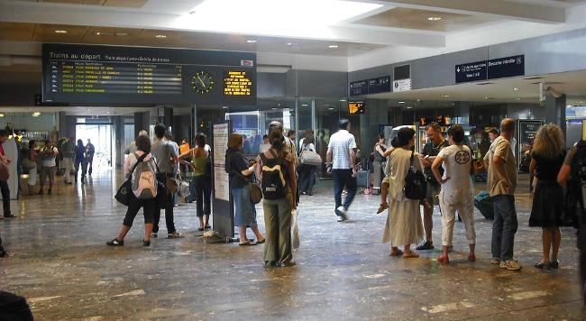 gare Toulouse Matabiau greve SNCF