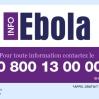 Ebola : un numéro vert et 12 établissement référents en France