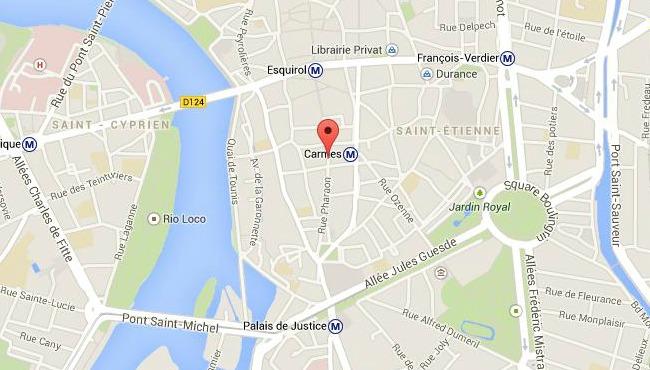 Deux policiers blessés en plein centre de Toulouse