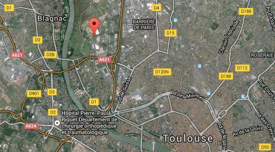 Un motard se tue à Toulouse