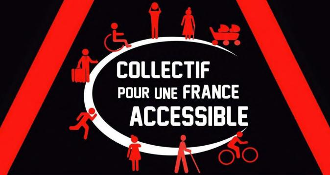 Manifestation à Toulouse du collectif pour une France accessible