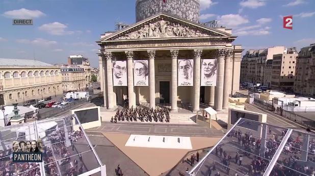 direct : au Panthéon la France rend hommage à la Résistance