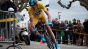 A un mois du départ du Tour de France Froome fait état de sa grande forme en remportant le Dauphiné Libéré Photo «Tour de Romandie 2013 2013 - Stage 5 - Christopher Froome» par Thortuck — Travail personnel. Sous licence CC BY-SA 3.0 via Wikimedia Commons.