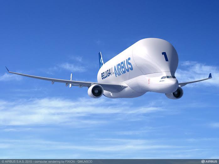 Le Beluga d'Airbus va encore grossir