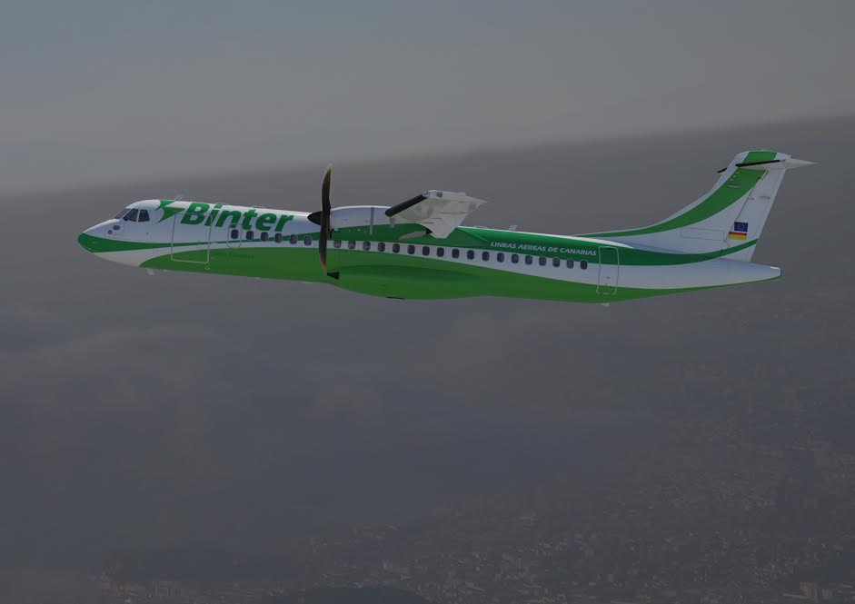 Binter commande 6 avions ATR 72-600