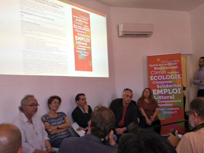 Régionales : Onesta veut un programe participatif