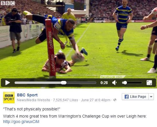 Rugby. l'essai le plus extraordinaire de l'année marqué en Angleterre