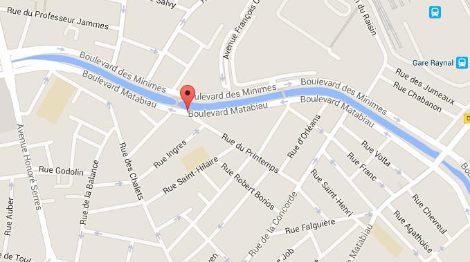 Un homme se tue à scooter boulevard Matabiau à Toulouse