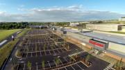 Centre commercial de l'Isle Jourdain -  © Photo David BÈcus
