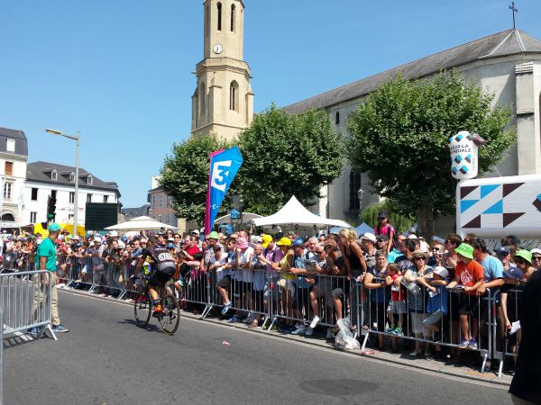 Dans les coulisses du Tour de France 2015