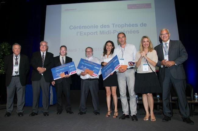 Et les lauréats des trophées de l'Export Midi Pyrénées 2015 sont