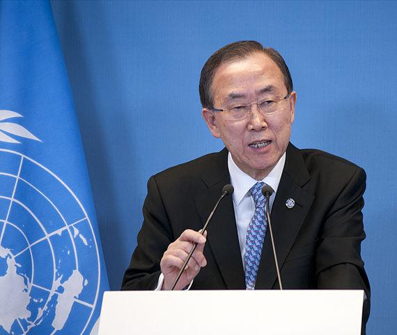 """Ban ki moon """"optimiste"""" pour le sommet de Paris sur le climat"""