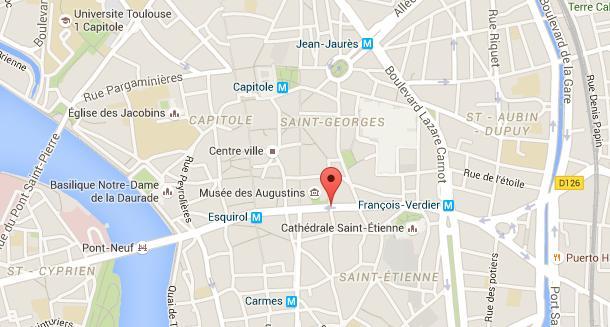Accident mortel rue de Metz à Toulouse