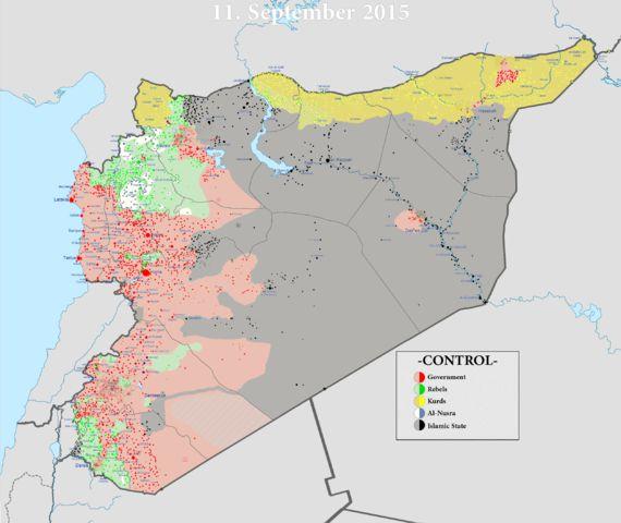 Guerre en Syrie ou guerre contre l'Etat Islamique