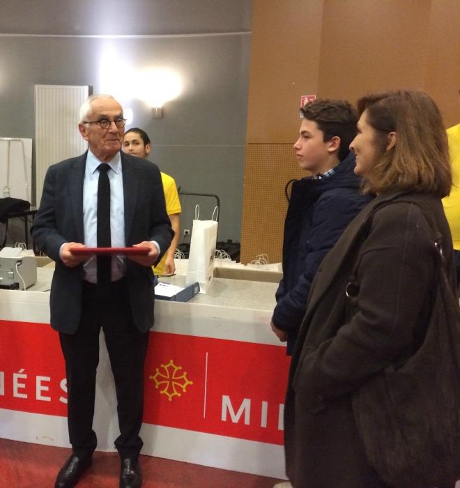 Malvy lance la distribution des ordilib aux lycéens de Midi Pyrénées