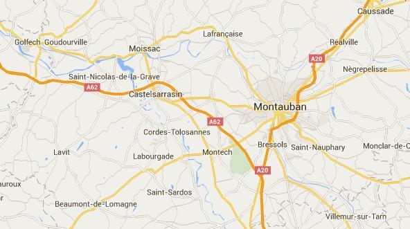 Piéton tué à Castelsarrasin, Trafic SNCF Toulouse Bordeaux interrompu
