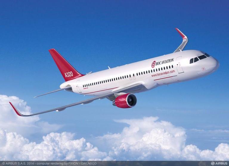 BOC Aviation commande 30 appareils de la famille A320