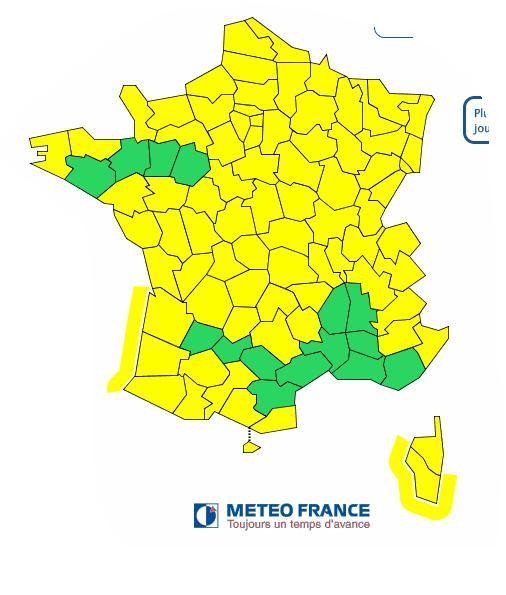 Neige vers 1200 m tres sur les alpes et l 39 est de la france - L est de la france ...