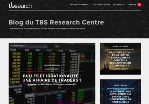 La Toulouse Business School TBS lance un revue scientifique sur internet