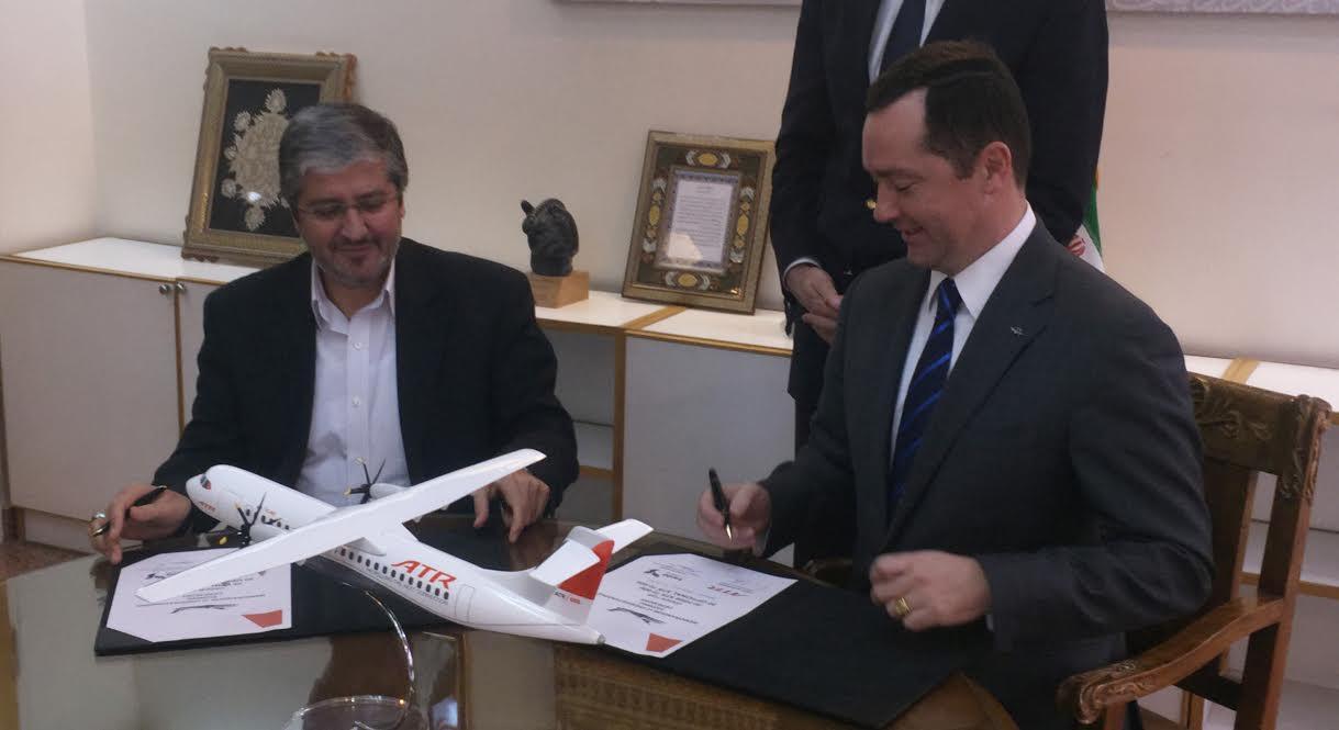 ATR passe un contrat en Iran pour un milliard d'euros