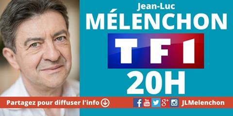 Mélenchon candidat à l'élection présidentielle de 2017