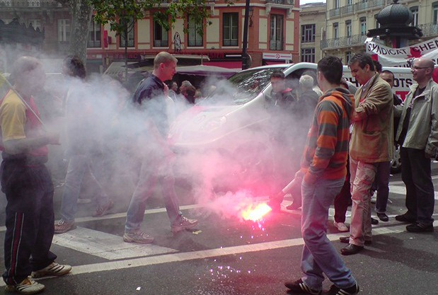 manifestants Toulouse