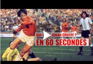 Johan Cruyff, géant du football est décédé