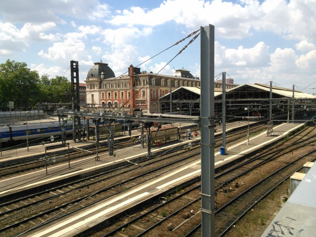 grève SNCF Toulouse Matabiau Avril 2016