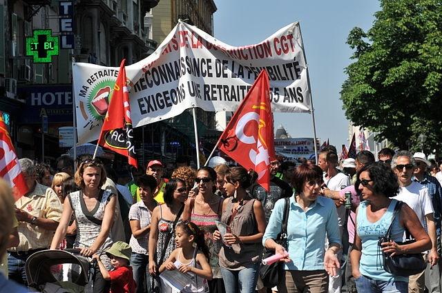 1er Mai 2016 Défilés Toulouse