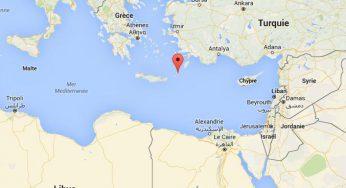 Crash de l'A320 d'EgyptAir : le lieu présumé du crash