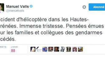 Mort de 4 gendarmes dans les Pyrénées. hommages