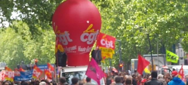 Nouvelle manifestation contre la loi travail à Toulouse