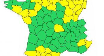 Orages : la Haute Garonne, le Gers, le 09 et le 65 en alerte jaune