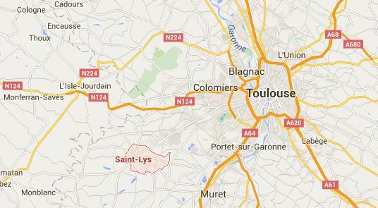 Saint Lys Toulouse très grand exces de vitesse
