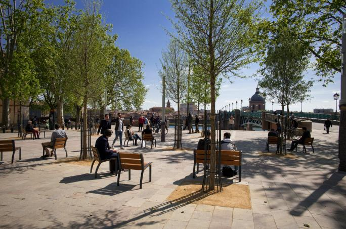 nouvelle place saint pierre Toulouse