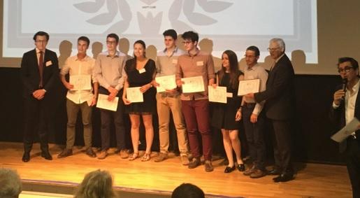 Des étudiants toulousains lauréats du concours des étudiants créateurs d'entreprise