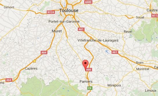 Un mort dans un accident de la route au Vernet au sud de Toulouse