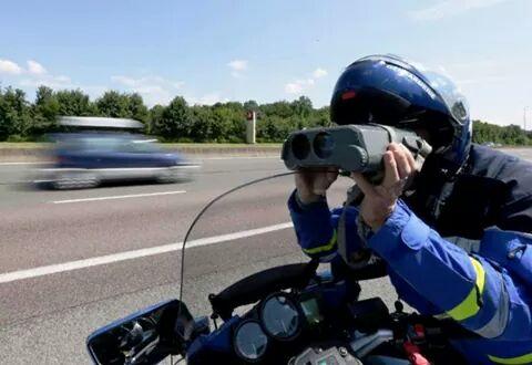 Entre Tarbes et Toulouse, un jeune conducteur contrôlé à 171 km/h