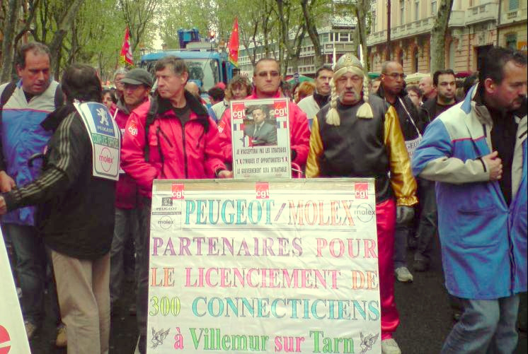 Les Molex licenciés sans cause réelle et sérieuse vont recevoir 7 millions d'euros
